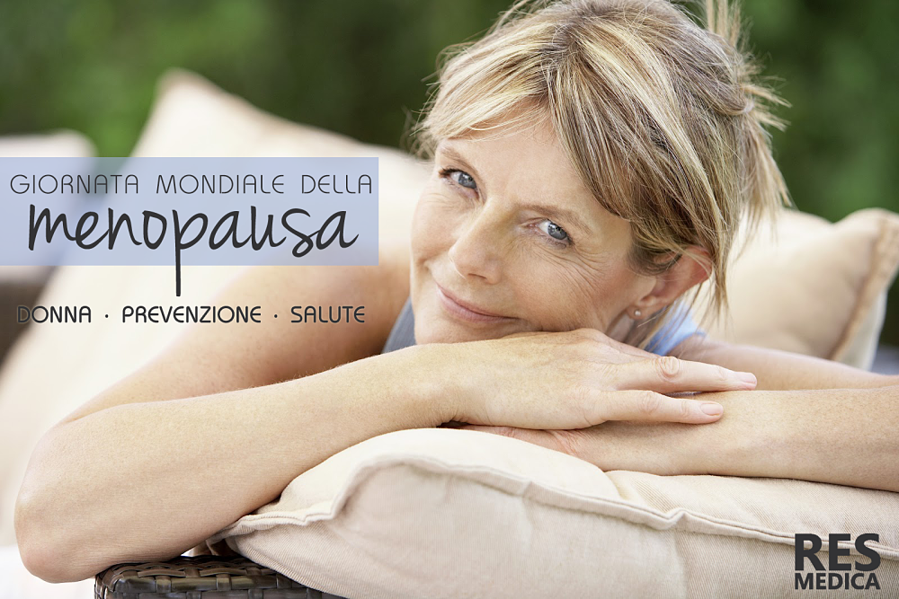 Res Medica per la Giornata Mondiale della Menopausa